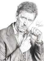 Dr. Gregory House by AmaterasuOmikami