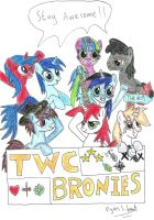 TWC Brony Party by UlyssesGrant