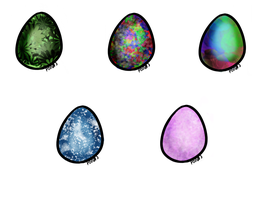 Egg Adopts #1 - {Set Price} - {Open} by RainbowPixelz