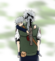 Father and Son by PurpleKakashi