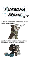 Fursona Meme by Super-Chey