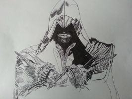 Assassin's creed wip 3 by ladyjart
