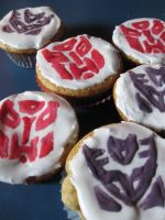 Transformers Muffins by ShianMoonites