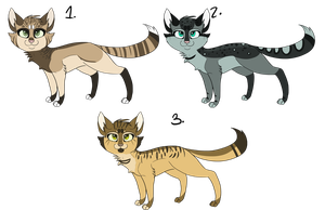 .:Cat Adoptables Batch 2- CLOSED:. by Joker-Darling