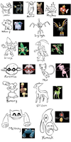 Pokemon from Memory Challenge 3 by BlazeDGO