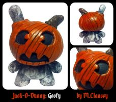 Jack-O-Dunny: Goofy by Clanceypants