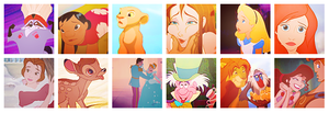 disney icons pack two. by simpleestyle
