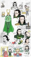 Loki and Thor 2 by Spizzina00