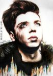 Andy Biersack Color Portrait by MichellyMe