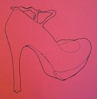 high heel, oh my. by tawny