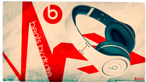 beats by dr.dre Wallpaper by lucasitodesign