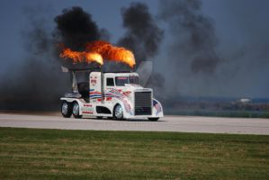 Shockwave Jet Truck Tri-Engine by GTX-Media