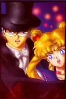 Sailormoon X Tuxedo Mask by ika-siyam