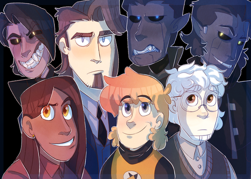 The Squad by InvaderShego