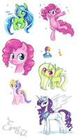 December pony dump 2011 by Emizu