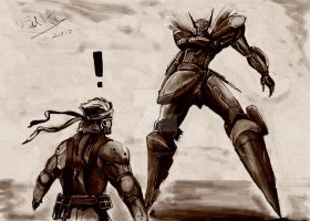 Snake vs Jehuty ?! by Fahad-Naeem
