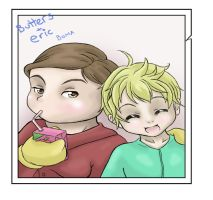 butters and eric boma by evilsnowball7