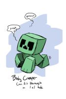 Baby Creeper by peachiekeenie