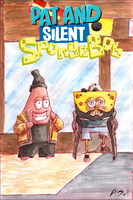 Pat and Silent Spongebob by sequentialartist