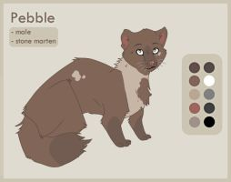 Character Trade: Pebble by ThistlePuma