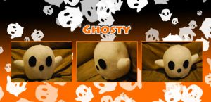 Ghosty Plush by binoftrash