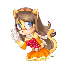 Sunshine the cat by Omegabinary