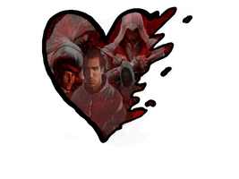 Assassin's Creed Heart by emmyxogats