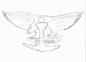 U.S. NAVY SEALs logo by killero94