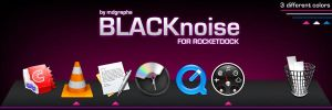 BLACKnoise for Rocketdock by MDGraphs