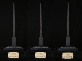 Special Wand No.3 ''Tickets To Azkaban'' by SRG-Wands