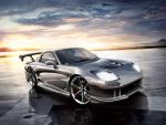 Mazda RX7 Silver Monsta by blackdoggdesign