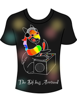 The Dj has arrived T-shirt entry by MelodyoftheNightFury