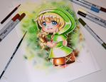 Chibi Linkle by Lighane