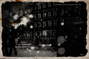 Second Life - The third shock army in Leningrad by Fraztov
