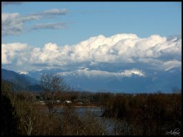 Fraser Valley From Mission by Adaera
