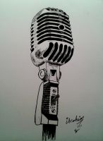 microphone by IbrahimCoban