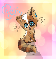 Chibi for oORueOo by Flushkitty