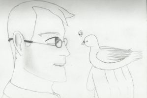 Medic and Archimedes by captainbobbin