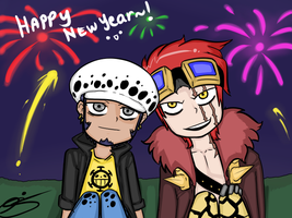 HAPPY NEW YEAR by eagle-eyes