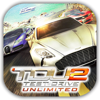 TDU 2 Game Icon by Wolfangraul