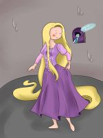 Rapunzel... no just fionna by ficakes911