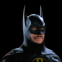 Charles Bronson as Batman by AtomTastic