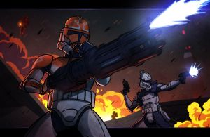 MOTION COMMISSION - 322nd in the Fire by JoeHoganArt