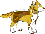 Adoptable canine OPEN by pyrrula