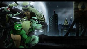 TMNT OC - Brotherhood by NinjaTertel