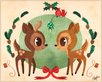 Holiday Card 2013 by chelseyholeman