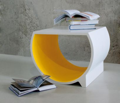 Speech Bubble Taboret by evusha
