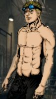 Shirtless Baird by truesanji