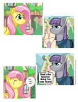 Fluttershy Tells Very Funny Jokes by TexasUberAlles