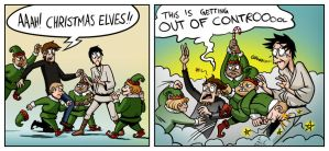 damn elves! by BackSeatGamers